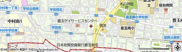 豊玉南住宅周辺の地図