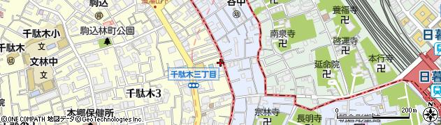 小奈や周辺の地図