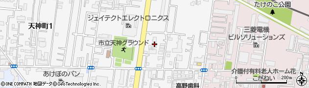 東建ニューハイツ花小金井周辺の地図