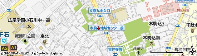 大運寺周辺の地図