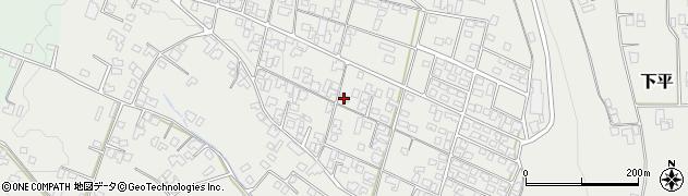 長野県駒ヶ根市下平周辺の地図