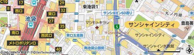 ヴァカンス池袋パート2周辺の地図