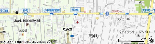 イクシア小平周辺の地図