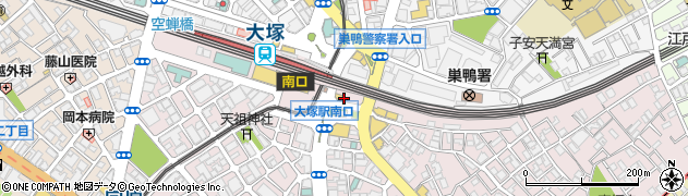 日高屋 大塚南口店周辺の地図