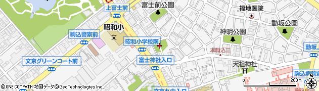 富士神社周辺の地図