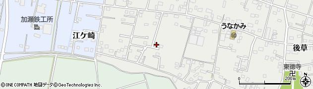 千葉県旭市後草1575周辺の地図