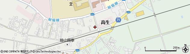 千葉県旭市後草182周辺の地図