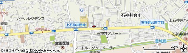 ドンナ周辺の地図