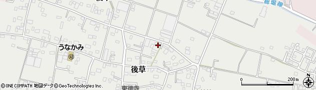 千葉県旭市後草1890周辺の地図