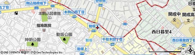 大久保寿司周辺の地図