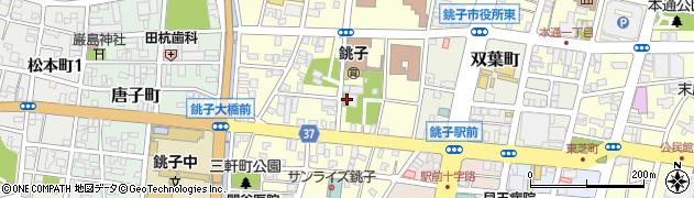 東岸寺周辺の地図