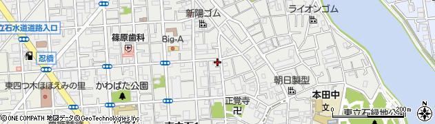 東京都葛飾区東立石周辺の地図