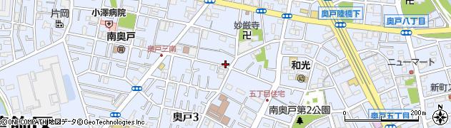 東京都葛飾区奥戸周辺の地図