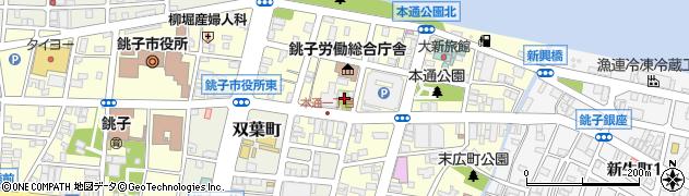 白幡神社周辺の地図