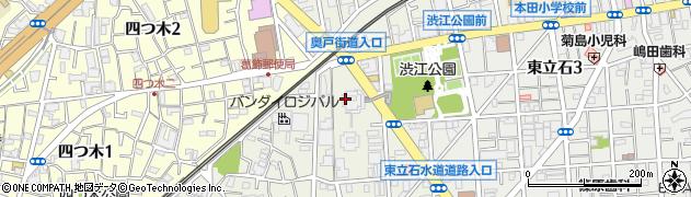都営東四ツ木四丁目アパート周辺の地図