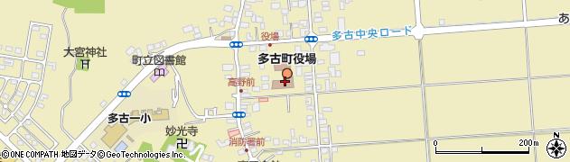 千葉県香取郡多古町周辺の地図