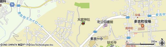大宮大神周辺の地図