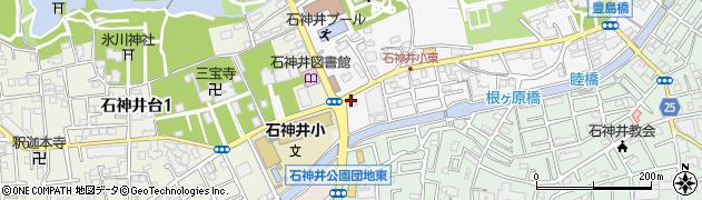銀のさら 石神井公園店周辺の地図