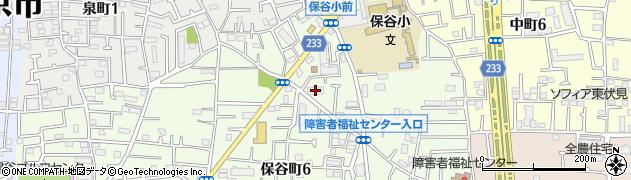 都営保谷本町6丁目アパート周辺の地図