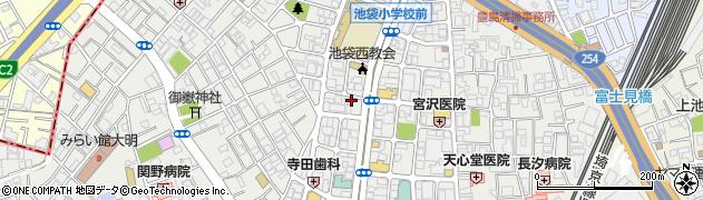 長浜や 池袋店周辺の地図