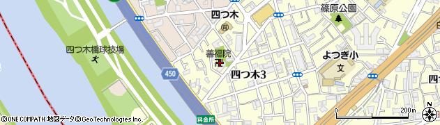 善福院周辺の地図