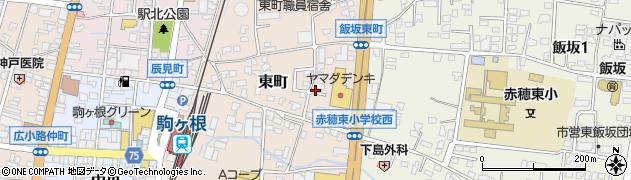 飯坂市営住宅周辺の地図