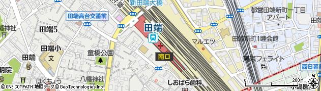 東京都北区周辺の地図