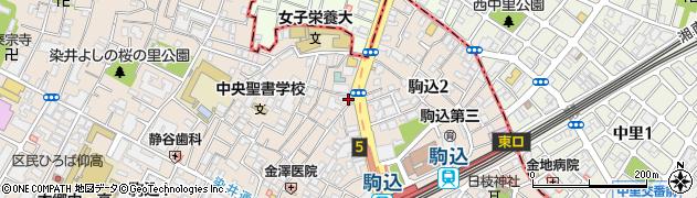 妙義坂マンション周辺の地図