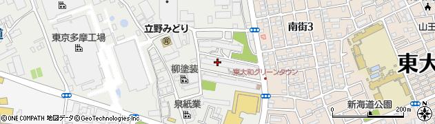 東大和グリーンタウン周辺の地図