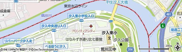 東京フロンティアシティパーク&パークス周辺の地図