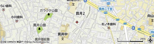 東建中村橋マンション周辺の地図