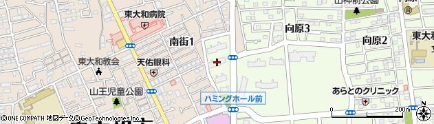都営東大和向原アパート周辺の地図