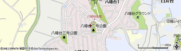 千葉県佐倉市八幡台周辺の地図