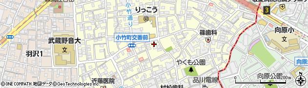 東京都練馬区小竹町周辺の地図