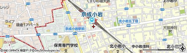 ウインベルプラザ京成小岩周辺の地図