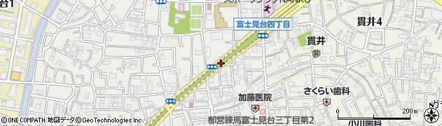 練馬トンネル周辺の地図