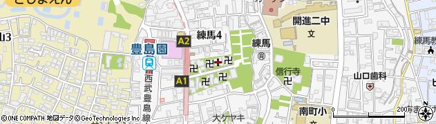 得生院周辺の地図
