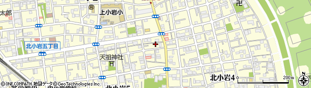 東京都江戸川区北小岩周辺の地図