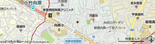 東京都板橋区向原周辺の地図