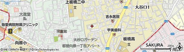 都営大口二丁目アパート周辺の地図