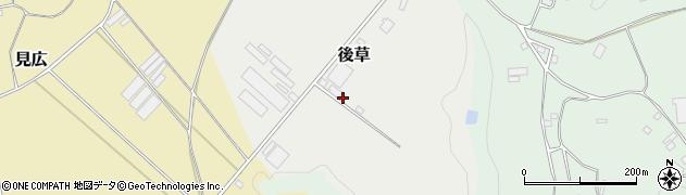 千葉県旭市後草3227周辺の地図