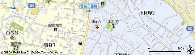 千葉県市川市下貝塚1丁目18周辺の地図
