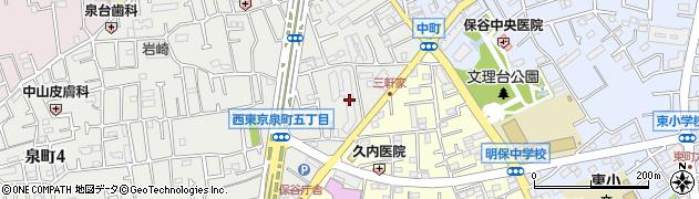 保谷マンション周辺の地図