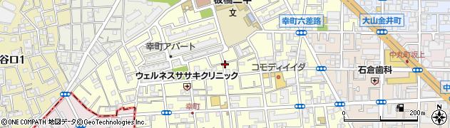 東京都板橋区幸町周辺の地図