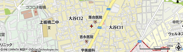 東京都板橋区大谷口周辺の地図