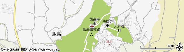 飯高寺周辺の地図