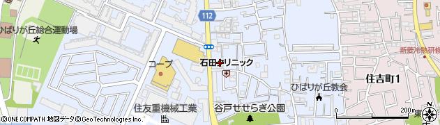 東京都西東京市谷戸町周辺の地図
