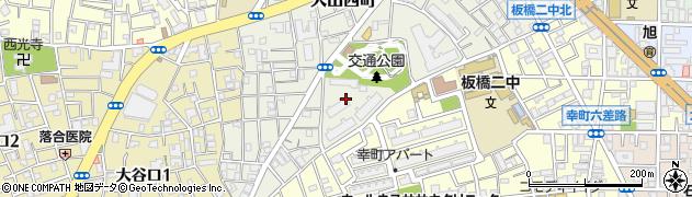 都営大山西町アパート周辺の地図