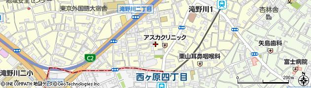 東京都北区滝野川1丁目79周辺の地図