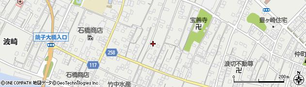 茨城県神栖市波崎(東明神町)周辺の地図